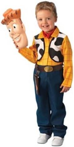 Rubies 3 883687 M - Disfraz de Woody para niño (5 años) (talla M ...