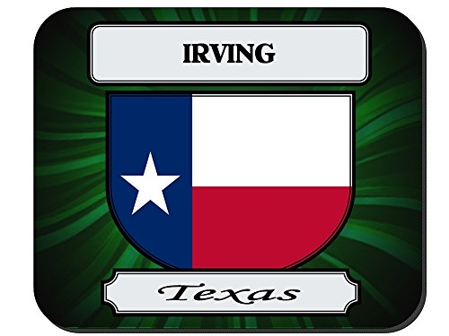 Irving, Texas (TX) City Mouse Pad (City Of Irving Texas)
