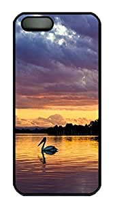 Case For Sam Sung Galaxy S5 Cover Pelican animals PC Custom Case For Sam Sung Galaxy S5 Cover Cover Black