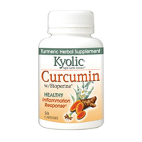 Kyolic Aged Garlic Extract, Curcumin, Capsules, Pack of 3 by Kyolic (Image #1)