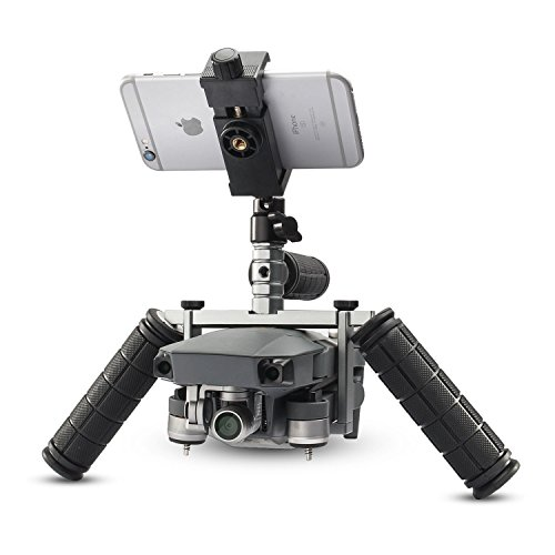 EACHSHOT Cinema Tray Metal Dual Handheld Gimbal Camera Stabilizer Bracket Kit for DJI Mavic Pro / Platinum (Kit Gimbal)