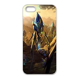iPhone 5,5S Phone Case White starcraft ii legacy of the void 3 TH6GH564680