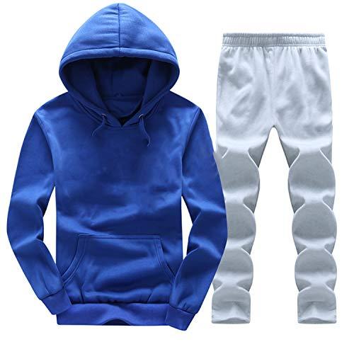 Amazon.com: Men Tracksuits Outwear Hoodies Zipper Sportwear Sets Male Sweatshirts Cardigan Men Set Clothing+Pants: Arts, Crafts & Sewing