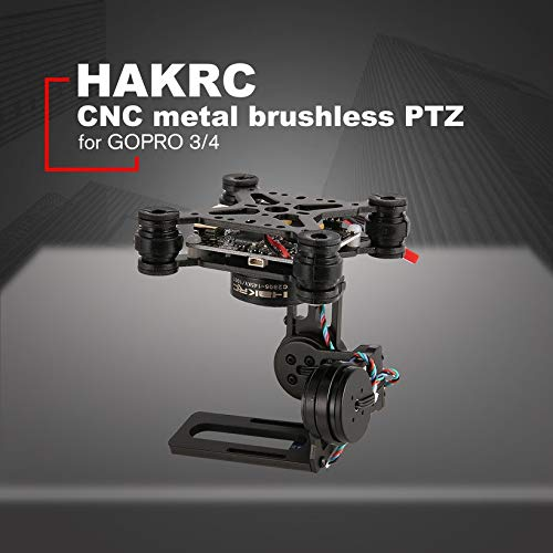 Wikiwand HAKRC 3-Axis Brushless PTZ Control Panel Gimbal for Drone Gopro3/4 Phantom by Wikiwand (Image #2)