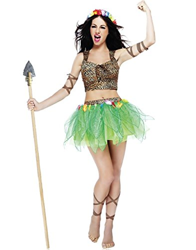 Princess of The Jungle Costume - Large - Dress Size 12-14 ()