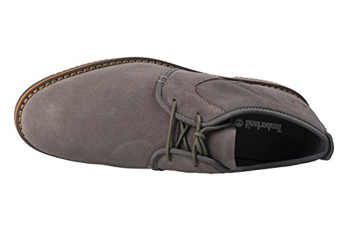 Timberland Brooklyn Park Leather Grey CA1GYF, Chaussures de Ville