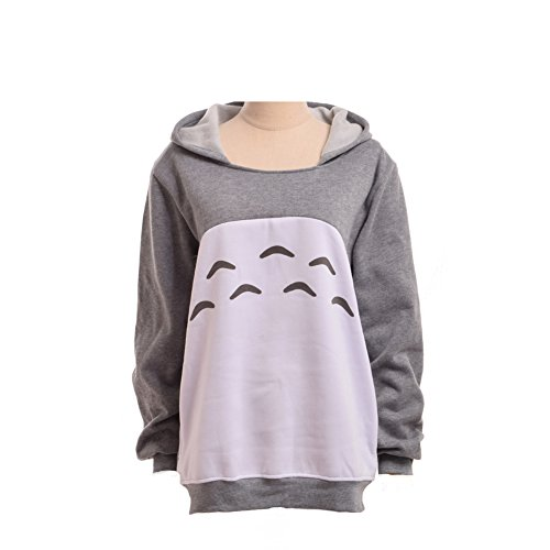 BLESSUME - Camicia - Cappuccio  -  donna Grey Medium