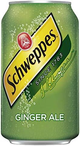Schweppes Ginger Ale 33cl (pack de 24): Amazon.es ...