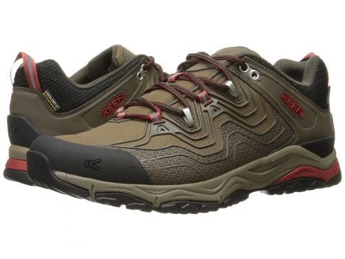Keen(キーン) メンズ 男性用 シューズ 靴 スニーカー 運動靴 Aphlex Waterproof - Black Olive/Bossa Nova [並行輸入品] B07BDPYRTF