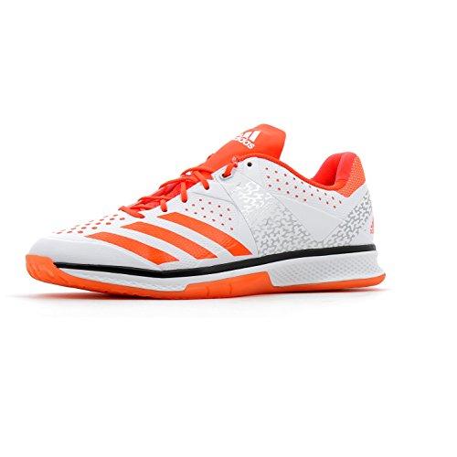 Adidas Counterblast Q21092 - Zapatillas de balonmano para hombre Blanco (Ftwbla / Rojsol / Plamet)