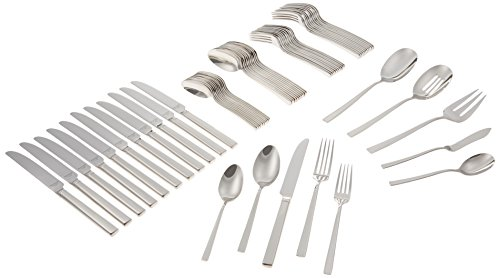 Reed & Barton Cole 18/10 Stainless Steel 65-Piece Set by Reed & Barton