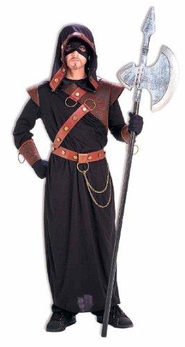 Forum Novelties Men's Executioner Costume, Black/Red, Standard -