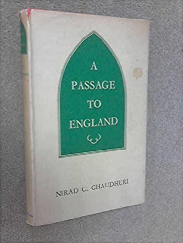 A Passage To England Hardcover 1960