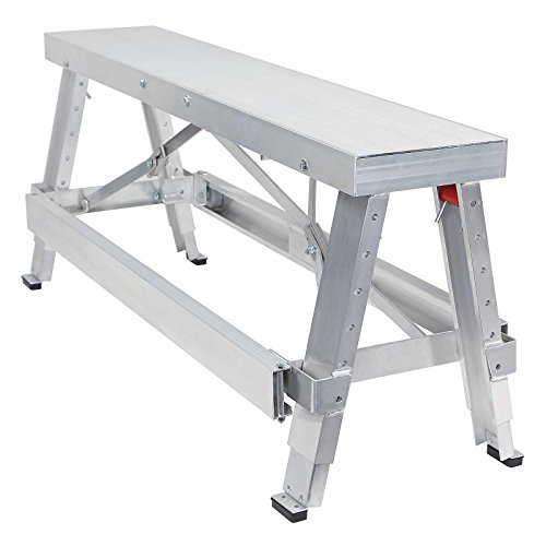 GypTool Adjustable Height Drywall Taping & Finishing Walk-Up Bench: 18 in. - 30 in. by GypTool