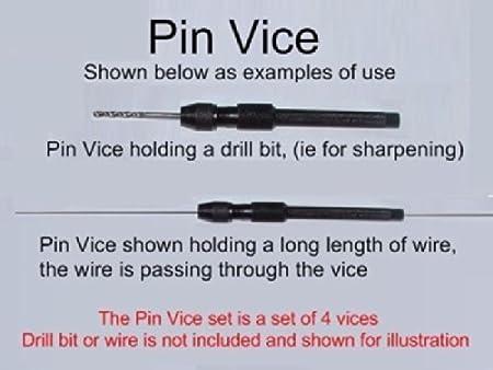 Endlessgreen Pin Vice Set Engineering Model Making Locksmith