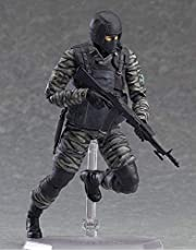 CUUGF 16CM Japanese Anime Limited Edition Metal Gear Solid Sons of Liberty Gurlukovich Soldier Action Figure Toy Model - Including Multiple Expressions Model Animated Character Birthday Gift