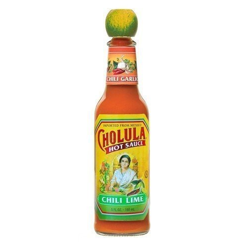 CHOLULA SAUCE HOT CHILI LIME, 5