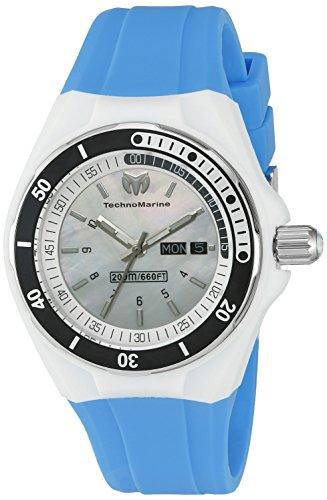 Technomarine Women's TM-115122 Cruise Sport Analog Display Swiss Quartz Blue Watch