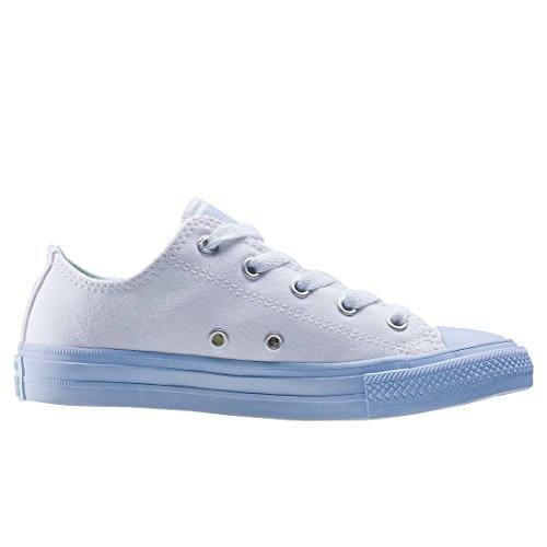 Converse Chuck Taylor All Star II High Kids Sneaker Kinder Schuhe hellblau weiß - 1 j4EX25cwA