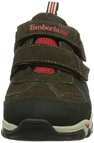 Timberland Ek Trail Force Wp H&l Ox - Botas de senderismo Unisex Niños Dark Brown
