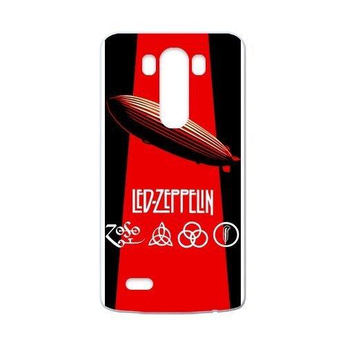 WXSTAR Fashion Led Zeppelin Custom Case for LG G3 (Laser Technology)