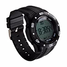 Morrivoe Bluetooth 4.0 Sport Pedometer Healthy Sleep Monitor Waterproof Night Visible Smart Watch Built-in Battery,NO Need Charging,Smart Bracelet for IOS and Android (Black)