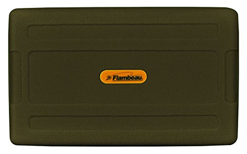 Flambeau Large Foam Fly Box, Ripple Foam