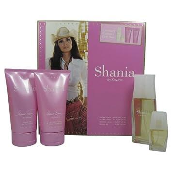 Amazon.com: Shania 4 PC. Set de regalo (Eau de Toilette ...
