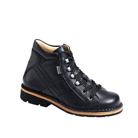 Piedro  Piedro Children's AFO Boots 2771, Sandales Compensées mixte enfant - - cuir noir, 31 EU