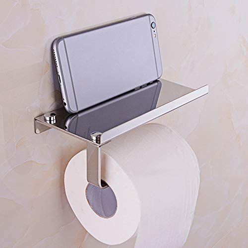 Iulove Toilet Roll Tissue Holder Stand Paper Storage Dispensers Wall Mounted Bathroom