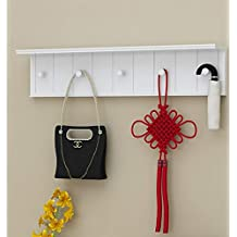 Wall Hook Shelf Living Room Wall Mount Bedroom Wall Hanger Creative European Hall Coat Rack