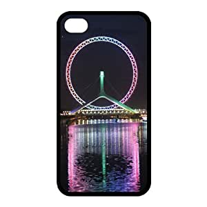 Custom Ferris Wheel Back Case for iphone4,4S JN4S-065