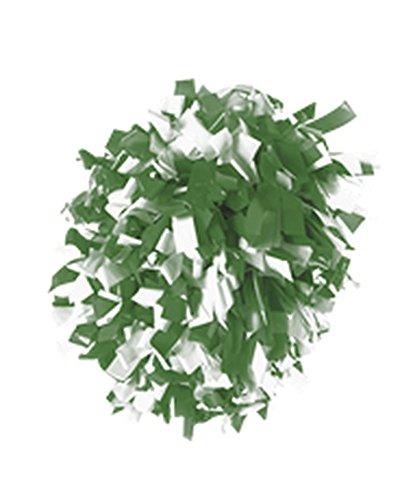 Alleson TWO COLOR PLASTIC MIX CONVERTIBLE POM KELLY, WHITE L CPOM2 CPOM2-KEWH-L ()