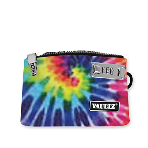 Vaultz Locking E-Cigarette Pouch, 5.5 x 8 Inches, Tie-Dye (VZ00735)