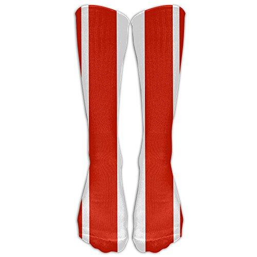 FUNINDIY Originality Austria Compression Socks Soccer Socks High Socks Long Socks For Running,Medical,Athletic,Edema,Diabetic,Varicose Veins,Travel,Pregnancy,Shin Splints,Nursing.