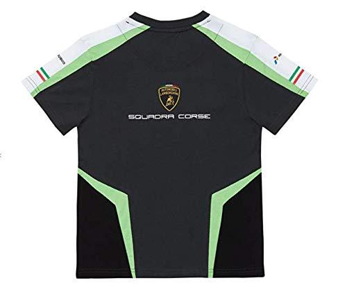 LAMBORGHINI Automobili Squadra Corse 2019 Kids T-Shirt White