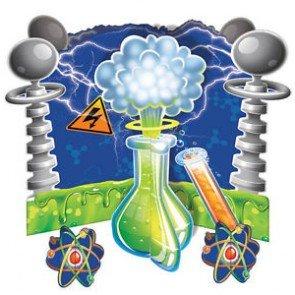 Mad Scientist Centerpiece -