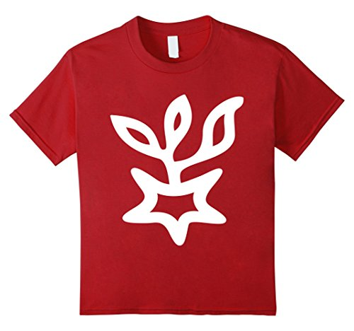 Kids 12 Victoria Symbol T-Shirt Asteroid Roman Goddess of Victory 8 Cranberry (Victory Goddess)
