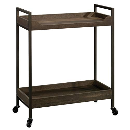 Sauder 423029 North Avenue Cart, Smoked Oak