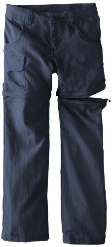 Columbia Girl's Silver Ridge III Convertible Pant (Youth), Nocturnal, Medium