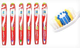 Colgate Extra Clean Toothbrush, #41 Full Head, Medium, 36 Co