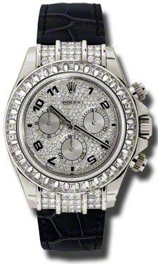 Rolex Rolex Daytona Ebnen Diamant Zifferblatt 18k White Gold Fall