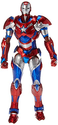 2015 Exclusive Marvel Sentinel Re: Edit Iron Man #03 Iron Patriot Action Figure