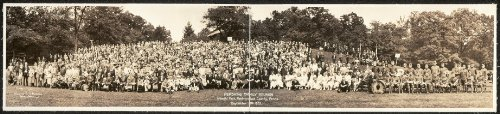 (Photo Pershing Family Reunion, Idlewild Park, Westmoreland County, Penna., September 8th, 1923 1923)