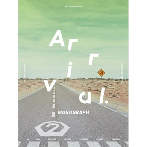 - GOT7 - MONOGRAPH FLIGHT LOG : ARRIVAL Photobook+DVD+7 Photo Postcards