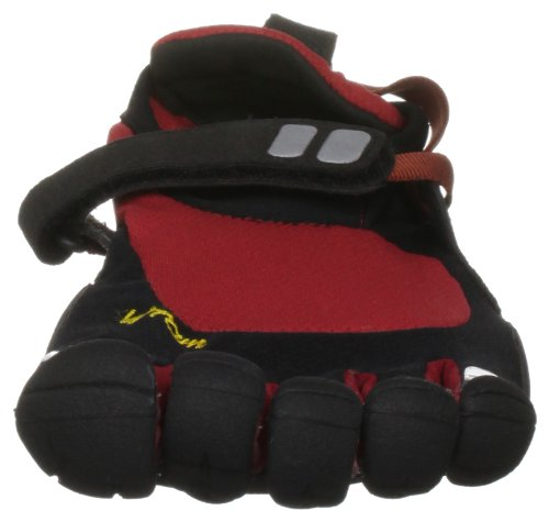 Scarpe a 5 dita Vibram Fivefingers Treksport Rosso/Nero rosso
