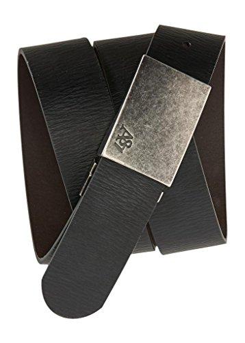 Aeropostale Mens Reversible Leather Plaque