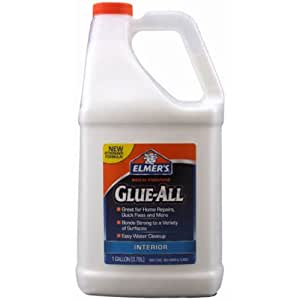 Elmer's E3860 Multi-Purpose Glue-All, 1 Gallon