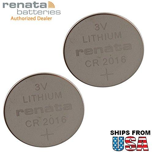 (2X Renata CR2016MFR.IB 3V Lithium Coin Battery Pressure Contacts for PCB Compaq Armada M300 M700 CMOS/BIOS Calculator, Toy, Electronic Gift CR2016-WR Evo N600c Motherboard, C-MOS, S-RAM, RFID, Memory )