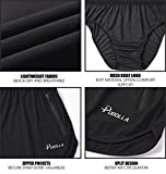 Pudolla Men's Running Shorts 3 Inch Quick Dry Gym